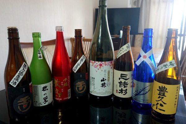 お任せスペシャルコース 日本酒の会